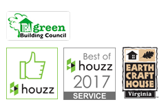 Best of Houzz, TBA Green Building Council, Earth Craft House Virginia